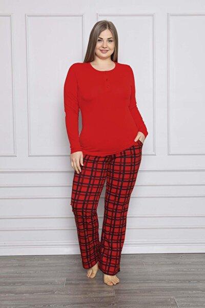 Kadın Modal Battal Boy Pijama Takımı