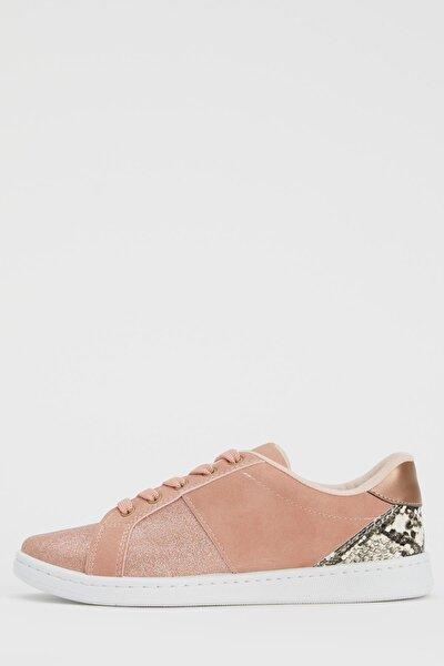Kız Çocuk Pullu Sneakers Ayakkabı