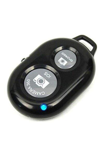 Bluetooth Uzaktan Kumanda Tüm Telefonlara Uyumlu Video Selfie Ve Fotoğraf Çekme Kolaylığı Siyah Renk