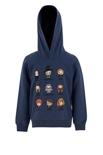 Erkek Çocuk Harry Potter Lisanslı Kapüşonlu Sweatshirt