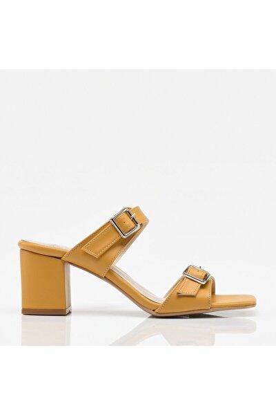 Hardal Yaya Kadın Sandalet & Terlik