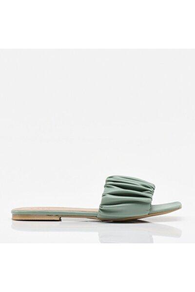 Yeşil Yaya Kadın Sandalet & Terlik