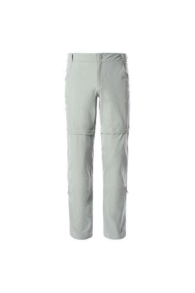 Kadın Gri Spor Pantolon W Exploratıon Convertıble Pant Eu Nf00cn1bhdf1