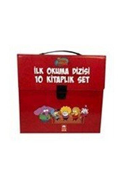 Kral Şakir Ilk Okuma Kitapları Çantalı Set (10 Kitap Takım) (kırmızı)