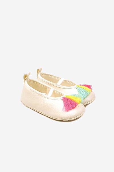FUNNY 1282 Ekru Kız Çocuk Ayakkabı 100479755