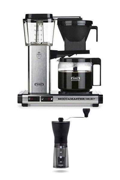 Kbg Select Filtre Kahve Makinesi Cam Potlu Brushed