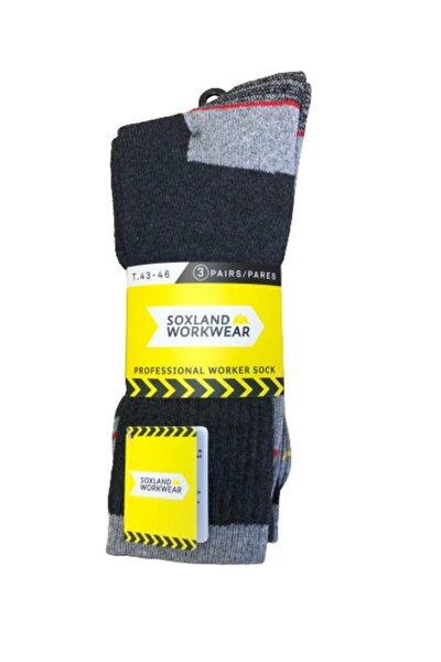 Taban Altı Havlu Çorap 3'lü