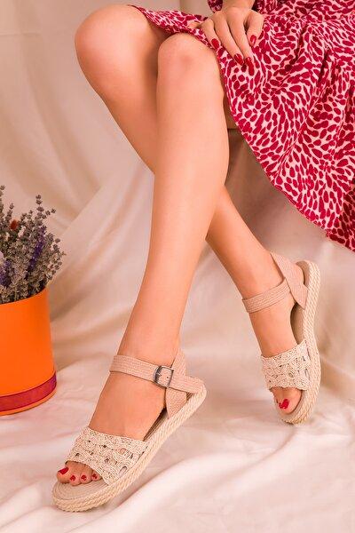 Ten Kadın Sandalet 15983