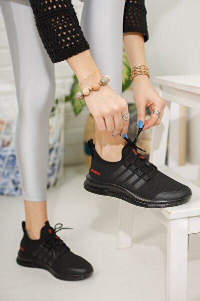 Kadın Siyah Sneaker 1998