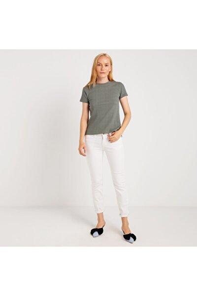 Kadın T-shirt Haki