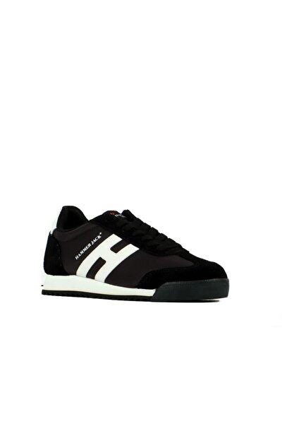 Bağcıklı Yürüyüş Ayakkabısı - Siyah-beyaz - 20003