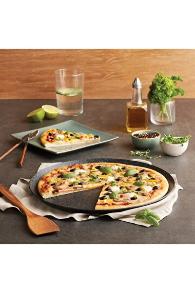 Mutfaksever Biogranit Grey Pizza Tavası