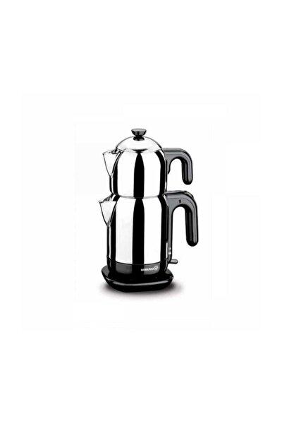 Demtez Inox/siyah Elektrikli Çaydanlık