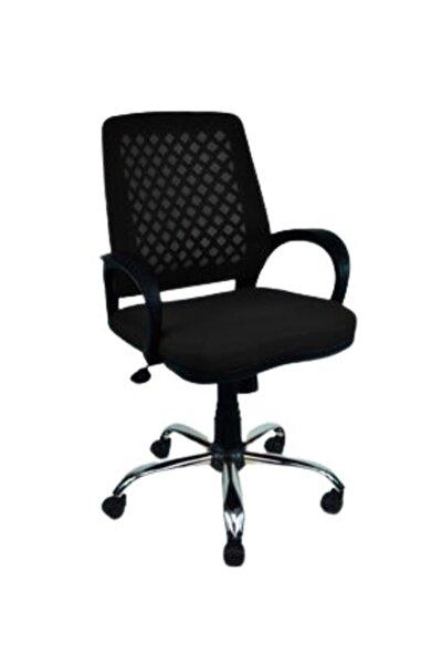Sers Siyah Büro Ofis Çalışma Koltuğu Yönetici Bilgisayar Sandalyesi