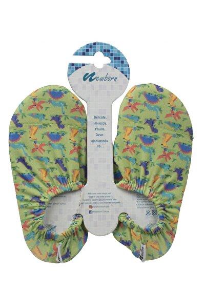 Unisex Çocuk Yeşil Deniz Ayakkabısı 4010k
