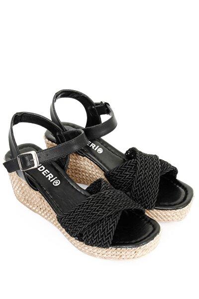 Siyah Kadın Sandalet 40603