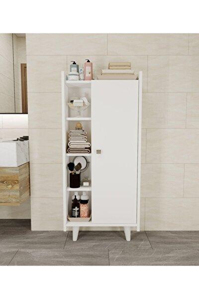 Modern Banyo Kitaplık Mutfak Kiler Çok Amaçlı Dolap
