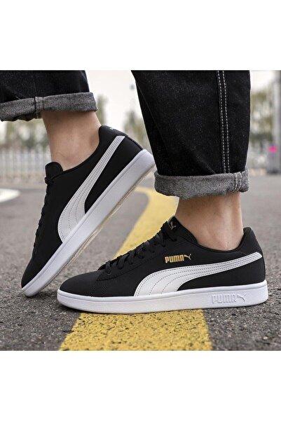 SMASH V2 BUCK PUMA B Siyah Kadın Sneaker Ayakkabı 101085541
