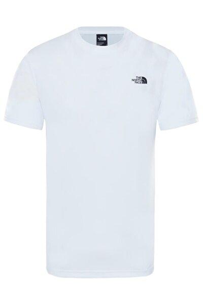Train N Logo Hybrid Erkek Tişört Beyaz