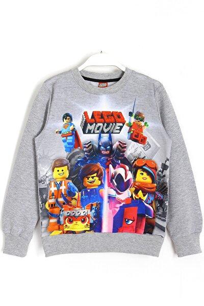 Erkek Çocuk Gri Movie Karakterleri 3d Baskılı Sweatshirt 5 14 Yaş