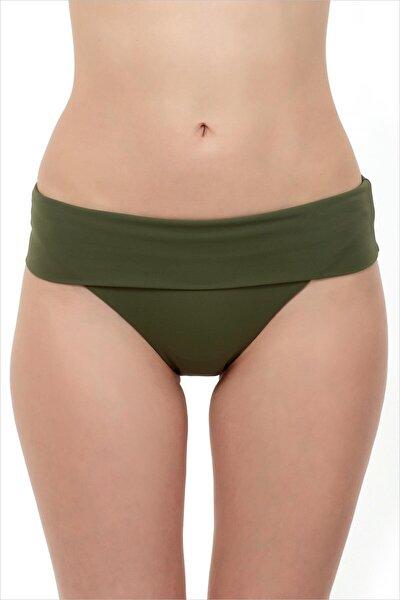Kadın Asker Yeşili Bikini Altı 63040/D2042