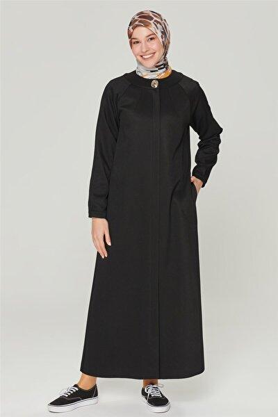 Kadın Siyah Trençkot 20ka8413