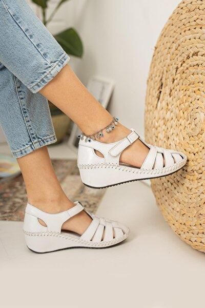 Kadın Günlük Önü Kapalı Sandalet