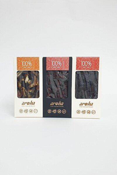 Şekersiz Bitter Çikolata Serisi - % 100 Kakao