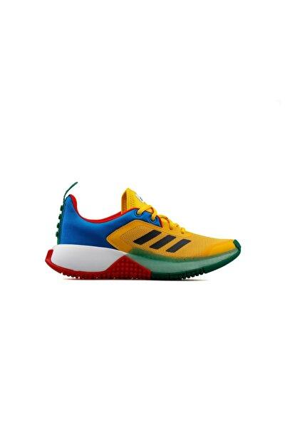 Kadın  Genç Koşu Ayakkabısı Fy8439 Renkli Lego Sport J