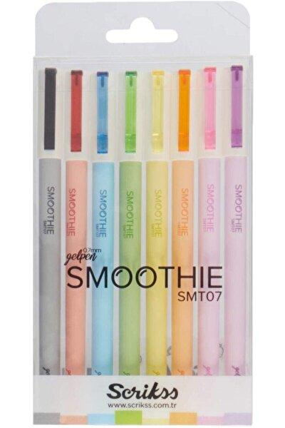 Smoothie Jel Kalem 0.7mm - 8'li Set