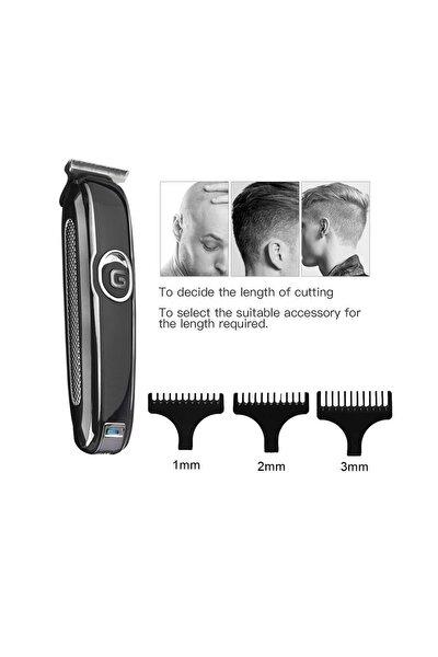 Profesyonel Şarjlı Saç Sakal Kesme Traş Tıraş Makinesi