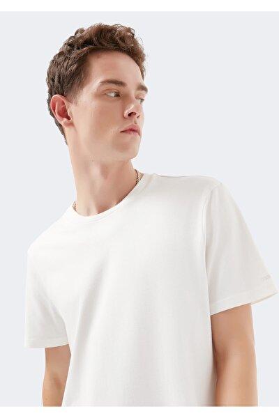 Doğa Dostu Beyaz Basic Tişört