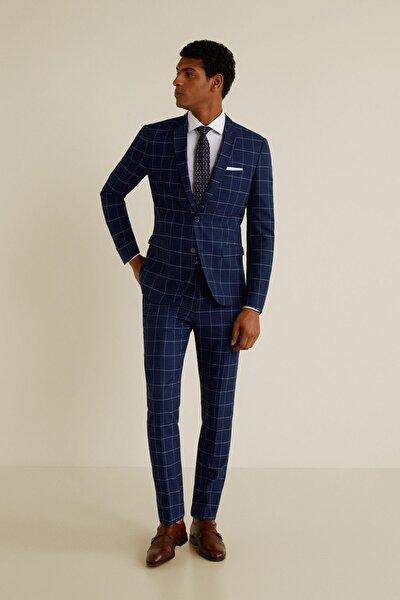 Erkek Mavi Pantolon 43053714