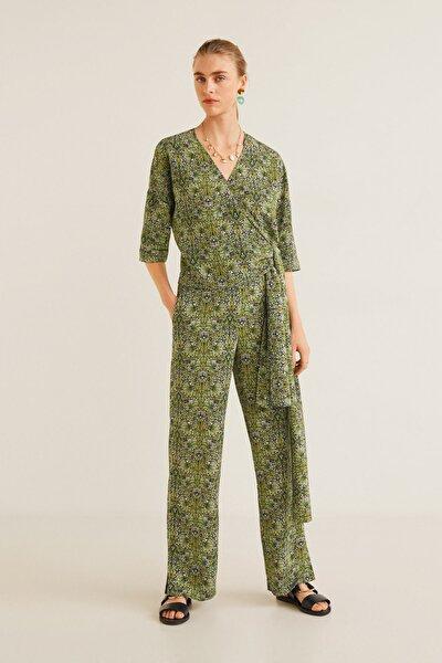 Kadın Yeşil Bluz 41065828