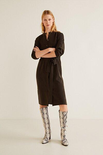 Kadın Çikolata Elbise 31047695