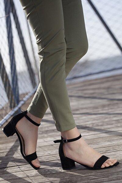 Günlük Klasik Topuklu Kadın Ayakkabısı