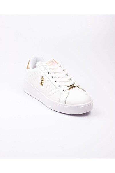 EXTRA Beyaz Kadın Havuz Taban Sneaker 100551350