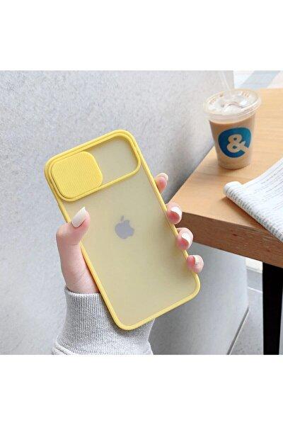 Iphone 8 Plus Kamera Kapatan Koruyucu Sürgülü Kılıf