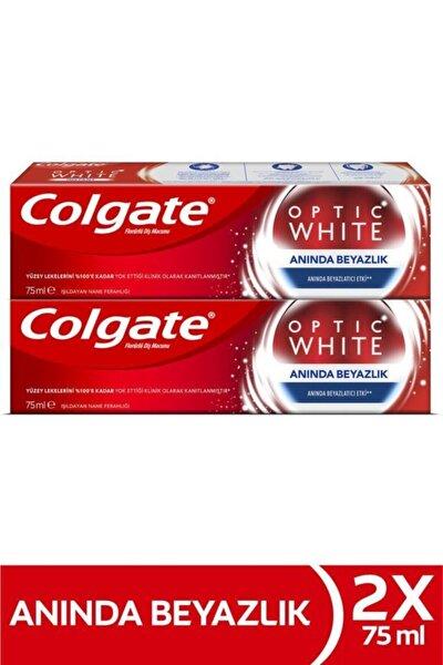 Optic White Anında Beyazlık Anında Beyazlatma Etkisi Beyazlatıcı Diş Macunu 2 X 75 ml