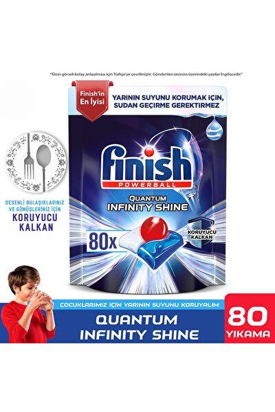 Quantum Infinity Shine 80 Kapsül Bulaşık Makinesi Deterjanı Tableti