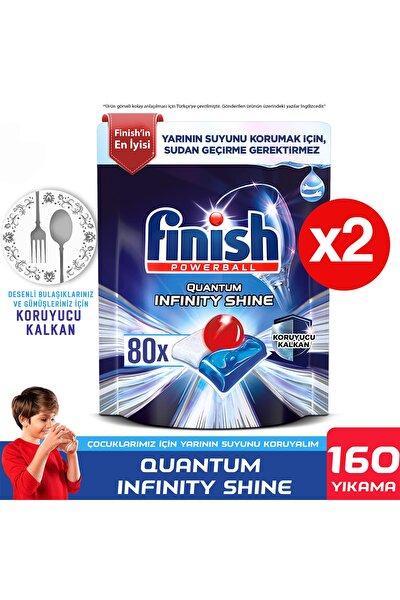 Quantum Infinity Shine 160 Kapsül Bulaşık Makinesi Deterjanı Tableti (80x2)