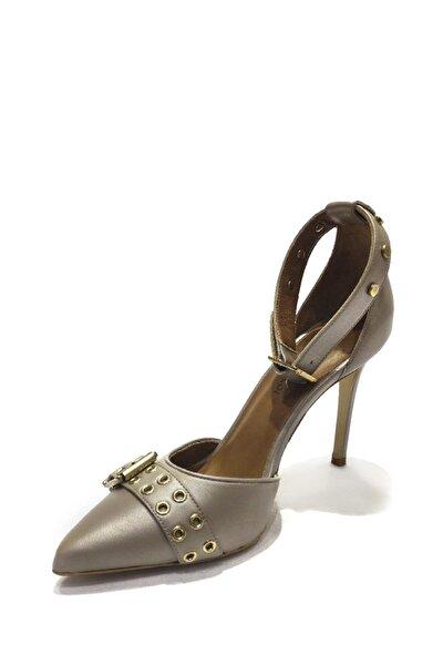 Hakiki Deri Klasik Topuklu Ayakkabı Sfb19y-2536 87