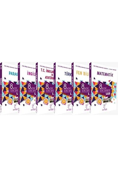 8.sınıf Soru Bankası Lgs Seti 6 Kitap