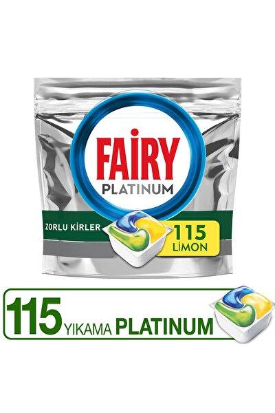 Platinum Bulaşık Makinesi Deterjanı Kapsülü Limon Koku