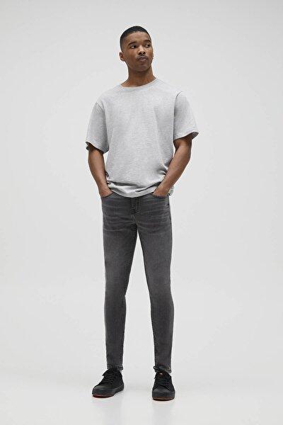 Erkek Açık Gri Süper Skinny Fit Jean 04681528