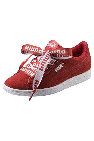 Kadın Kırmızı Vikky Rıbbon Bold Ayakkabı