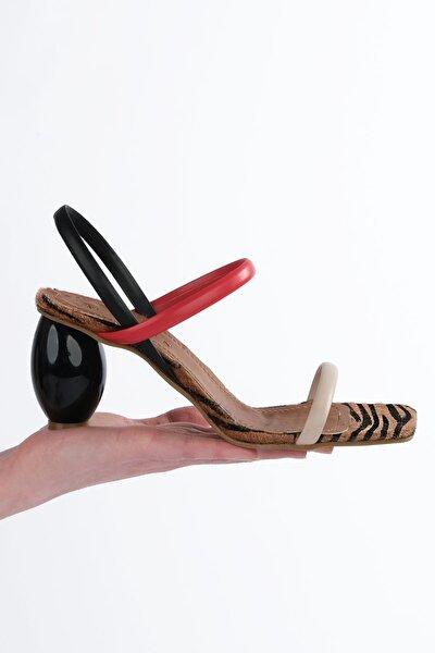 Kadın Multi 2 Topuklu Sandalet İnvez