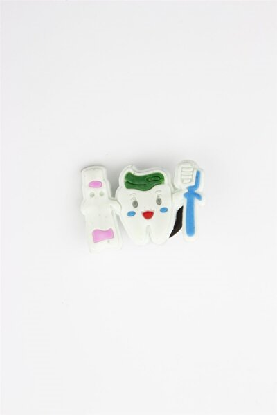 Beyaz Akınalbella Bellax Terlik Aksesuarı Diş Ve Macun