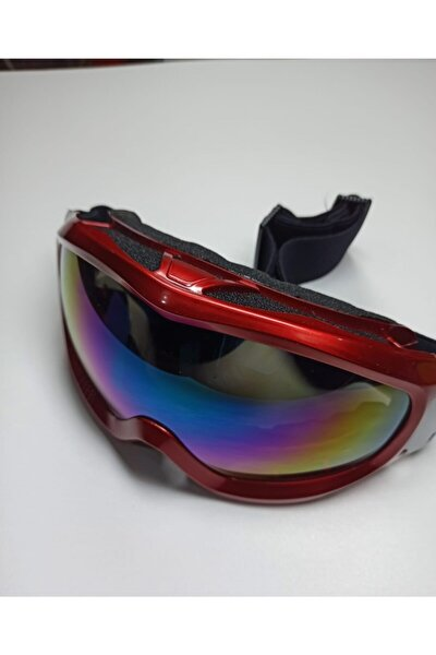 Unisex Bordo Snowboard Gözlüğü