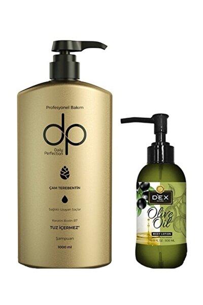 El Vücut Losyonu 200 ml ve Çam Terebentin Şampuan 1 lt